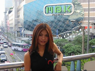I&#39;m in front of MBK, a famous mall in center of Bangkok
