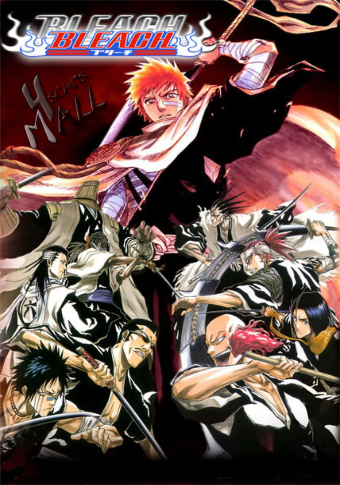 I would like an avatar of kurosaki isshin, ichigos father, in his shinigami outfit
