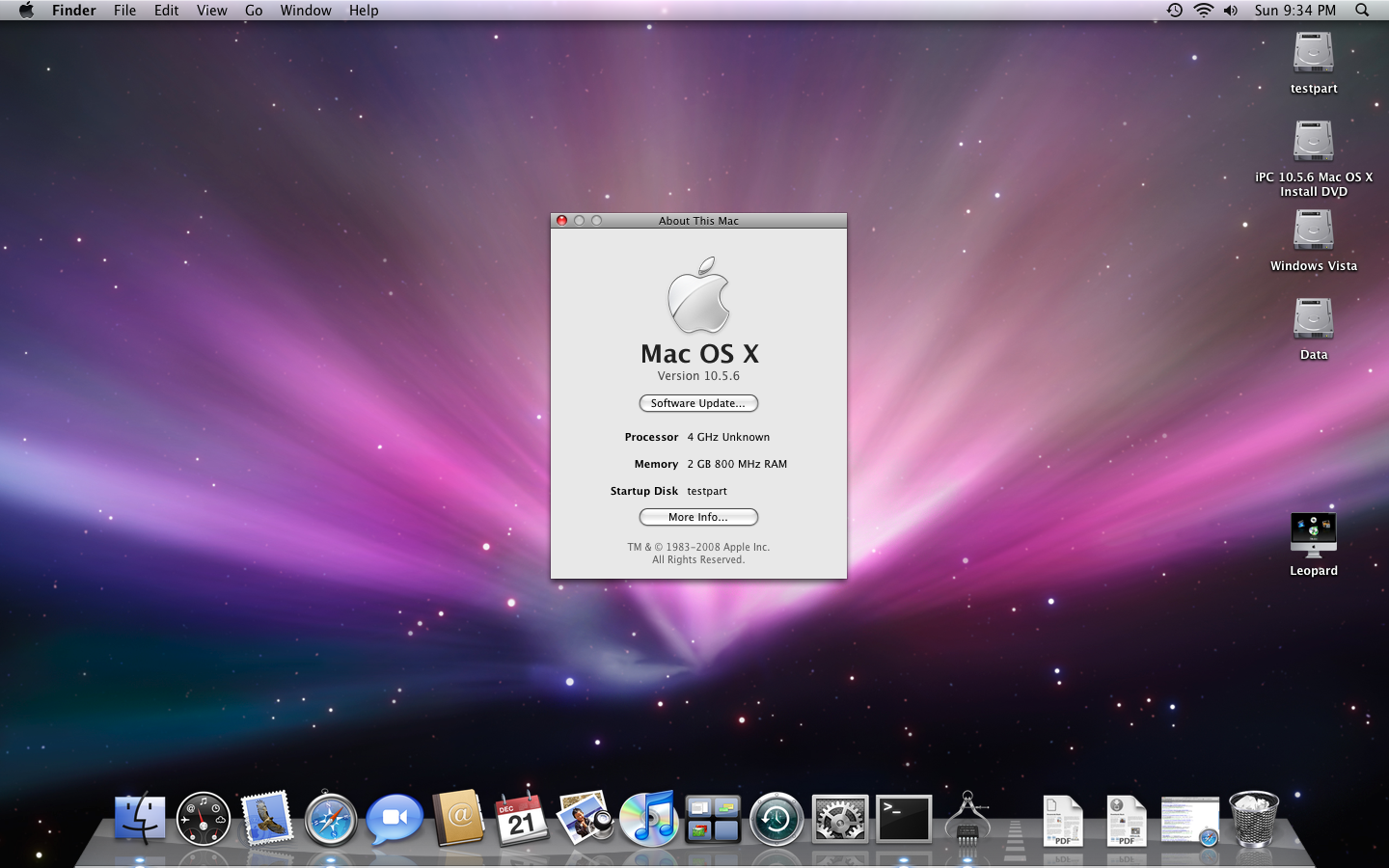 Jas osx86 10.5 2 intel sse2 sse3 iso