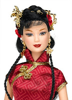 Chinese New Year Barbie Card
