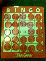 Chinese New Year Bingo Games