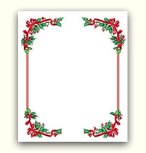 ... Ideas: Christmas Border and background - Free Christmas borders