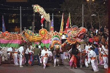 chinese new year parade pictures