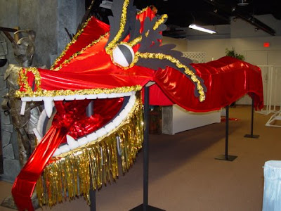 Chinese Craft Dragon Mask