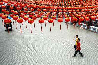 Chinese New Year Red Color