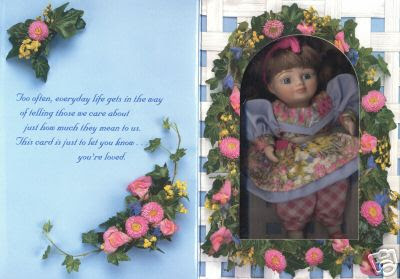 marie osmond mothers day greeting card doll