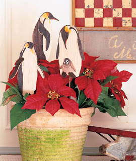 Christmas Poinsettia Flower Crafts
