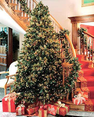 Artificial Christmas Tree Decorating Ideas