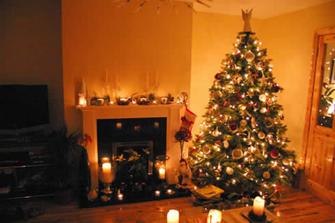 Indoor Christmas Decorating Tips Photograph House Ind