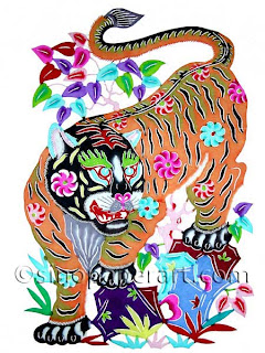 2010 Year of the Tiger Greeting Cards