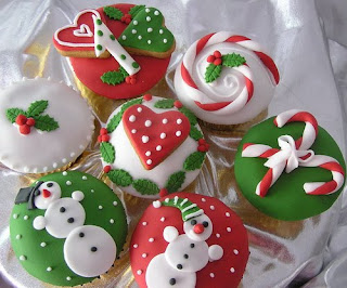 Christmas Cupcake Ideas