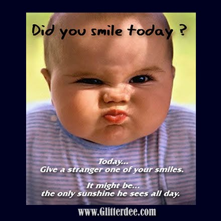 funny smiles. stock photo 20 funny smiles