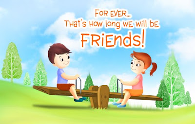 assorted friends forever card collection