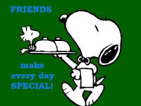 friends quote by snoopy