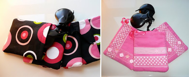 """Castañuelas"" cases BLACK US$ 10.00 and PINK US$ 8.00"