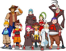 Todos los personajes de Dinosaur King