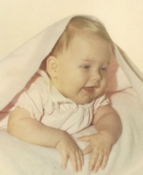 Julie at 4 mos. 1969