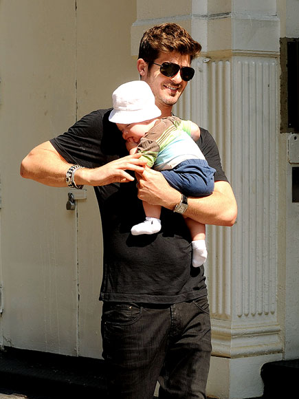 robin thicke and paula patton baby pics. paula patton baby boy pictures