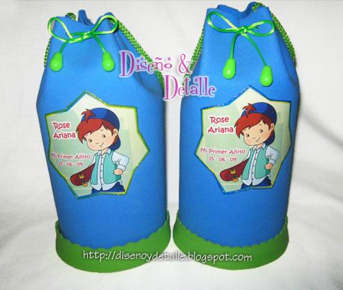 Diseño y Detalle: Lindas Sorpresas Infantiles de Fresita - de foamy