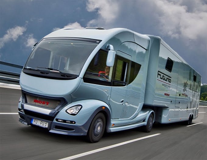 Much Like Most Luxury Motorhome Rentals The Futuria Sport Spa Comes With A Berth Including Two Single Beds And Living Area Futurias