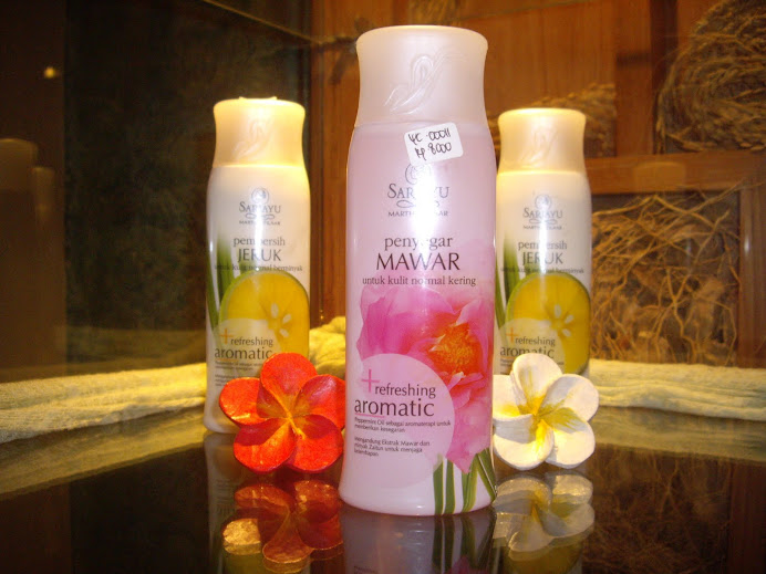 MARTHA TILAAR. SARUAYU. TRIO OF SPA PRODUCTS, NUSA DUA SPA