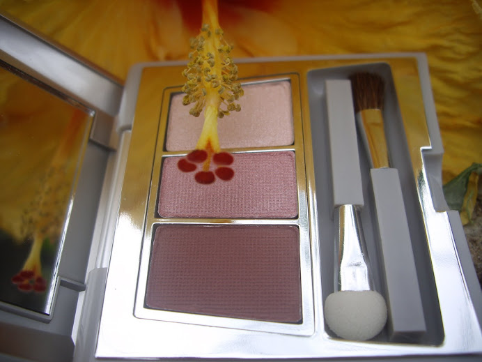 CARING COLORS EYE SHADOW TRIO COMPACT, PINK WAVE
