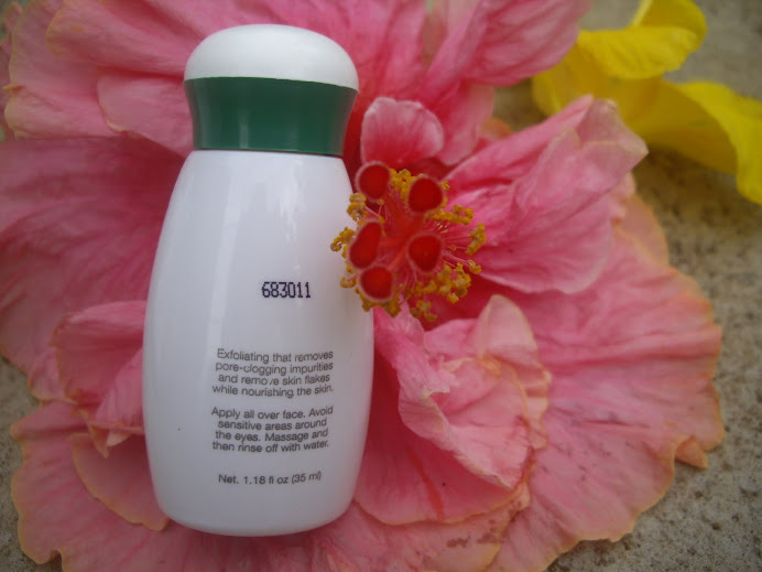 VITAL NUTRITION EXFOLIATING LOTION