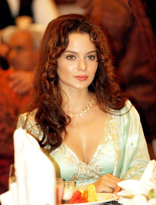 bollywood actress kangna ranaut hot cleavage photos gallery