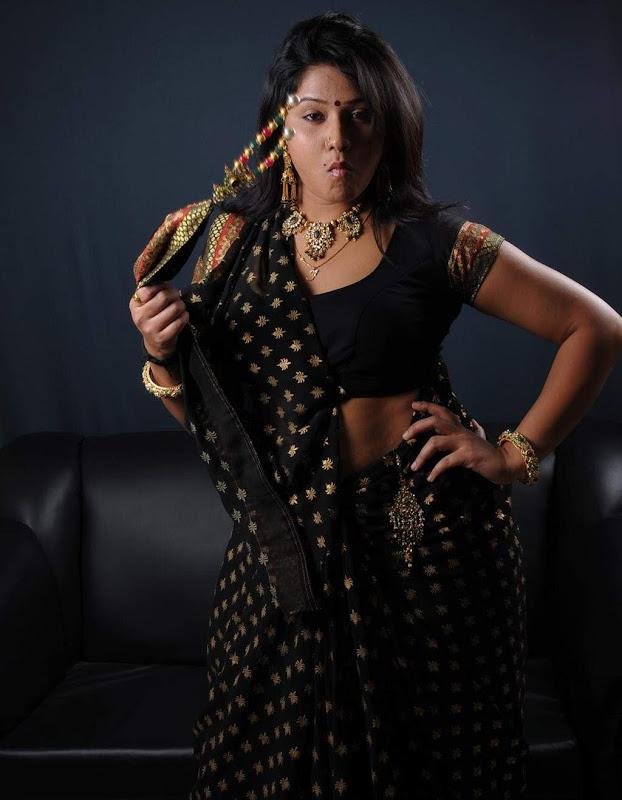Actress Jyothi Hot Masala Saree Blouse Photos Gallery Photoshoot images