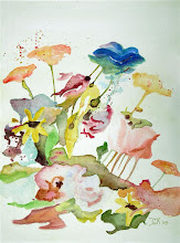 Aquarel veldbloemen (te koop)