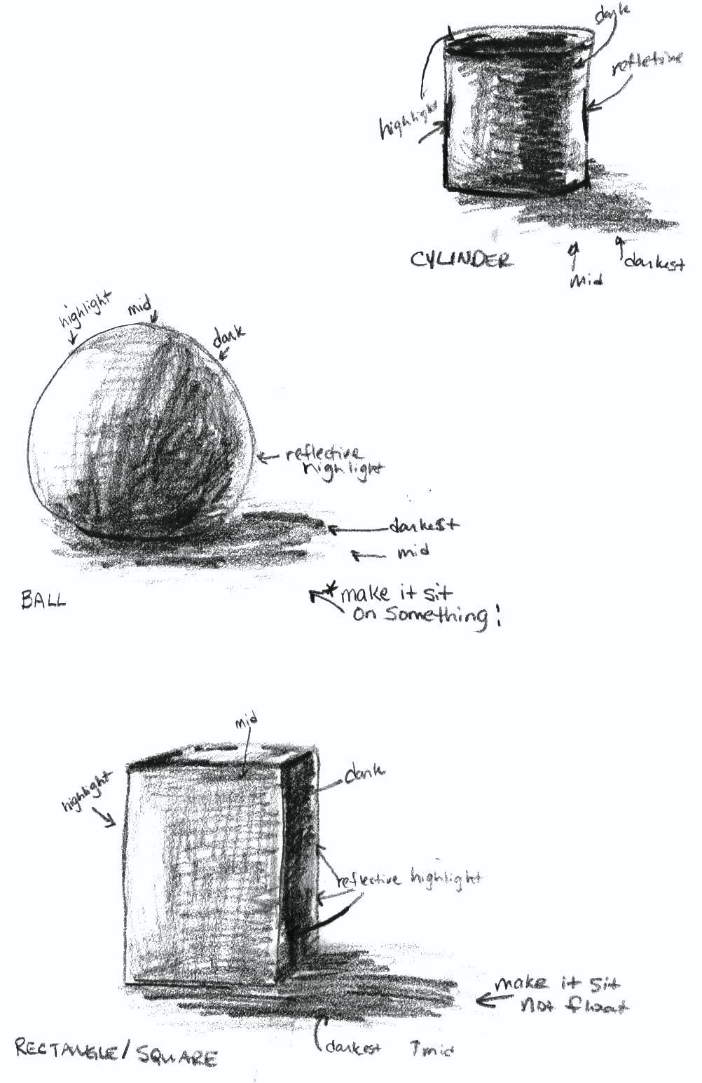 art 101 drawing and sketching