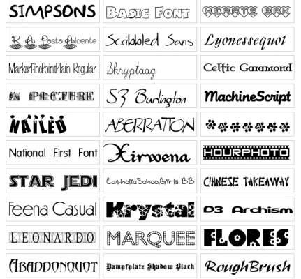 nuevas fuentes de letras nuevas fuentes de letras