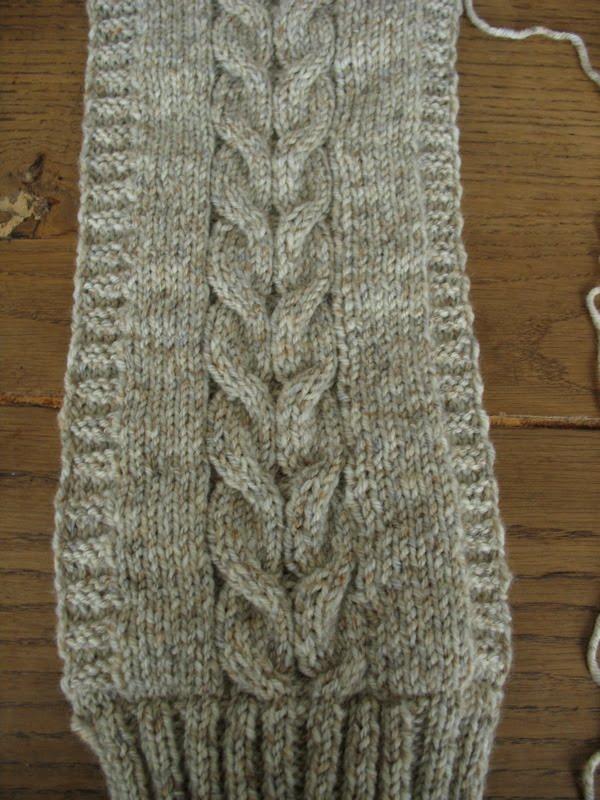 De la laine ... des aiguilles ...: Central Park Hoodie Scarf