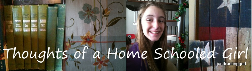 Thoughts of a Home Schooled Girl