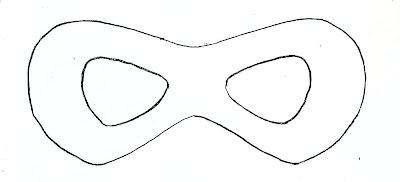 Batgirl Mask Printable Diy Superhero Template