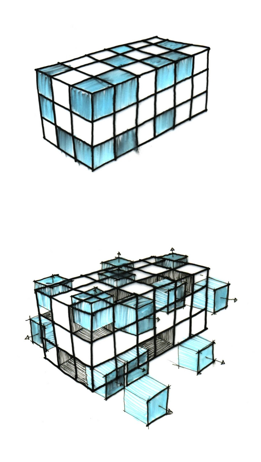 ADAM PARSONS DESIGN THESIS: DECONSTRUCTED RUBIK'S CUBE