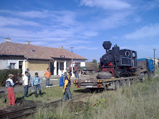 Centenarul liniei Sibiu - Agnita si mocanita