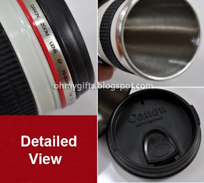 camera lens mug. Camera Lens Mug/Coffee Cup