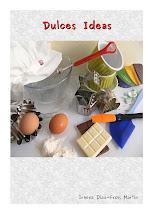 """Mi Libro """"Dulces Ideas"""" lo puden comprar en el Corte Inglés y en la Librería Canaima."""