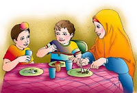 adab makan minum dalam Islam