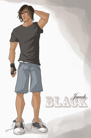Personaje ¿Que evocaría? (Questionario) Twilight___Jacob_Black_by_kampfkohlrabi