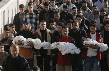 Atrocities bestowed on Gaza by the Israelis