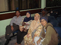 My Mother, Sisters and Brother-in-law at University Hospital, Petaling Jaya