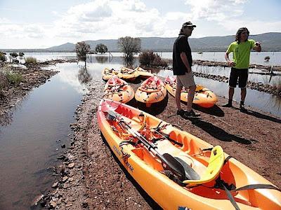 Kayak en Cabañeros
