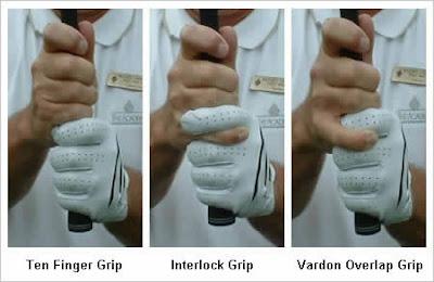 Formas de agarrar el palo de golf