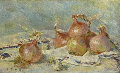 Cebollas. Pierre-Auguste Renoir. 1881