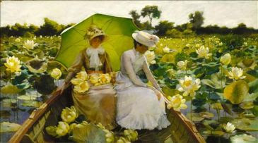 Flores de Loto 1888, Charles Courtney Curran