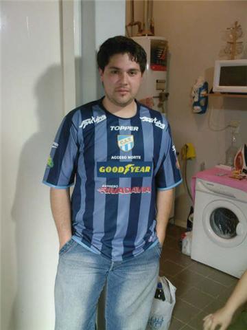 JORGE HINCHA DE ATLETICO TUC NOS MANDA ESTA FOTO DESDE RIO GALLEGOS!!