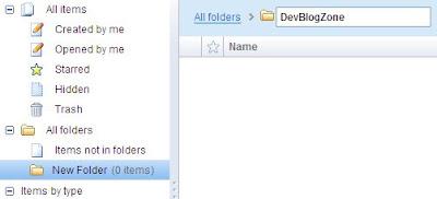 Renaming a Folder