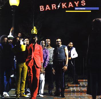 Cover Album of The Bar-Kays - Nightcruising (1981)